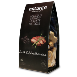 Naturea GrainFree Delicious Crunchy Biscuits For Dogs Duck & Blackberries
