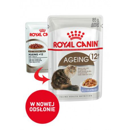 Royal Canin Ageing +12 w galaretce 12x85g
