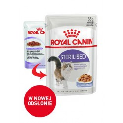 Royal Canin Sterilised w galaretce 12x85g