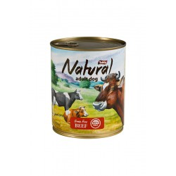 TOBBY Natural Adult Dog Wołowina 6x850g