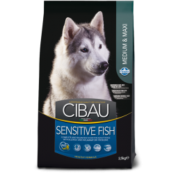 FARMINA CIBAU ADULT MED/MAXI SENSITIVE FISH
