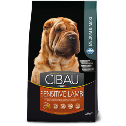FARMINA CIBAU ADULT MED/MAXI SENSITIVE LAMB