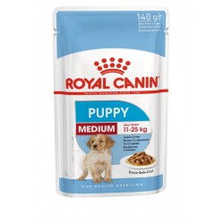 Royal Canin Medium Puppy Sasz. 10x140g