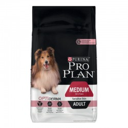 Purina Pro Plan Medium Adult Sensitive Skin Optiderma Salmon