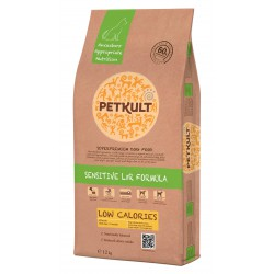 PETKULT DOG LOW CALORIES LIGHT LAMB & RICE